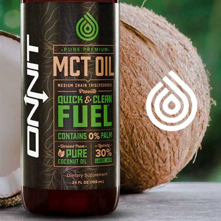PURE PREMIUM MCT OIL WITH LAURIC ACID